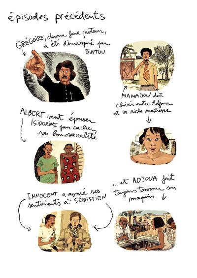Page 4 Aya de Yopougon tome 6