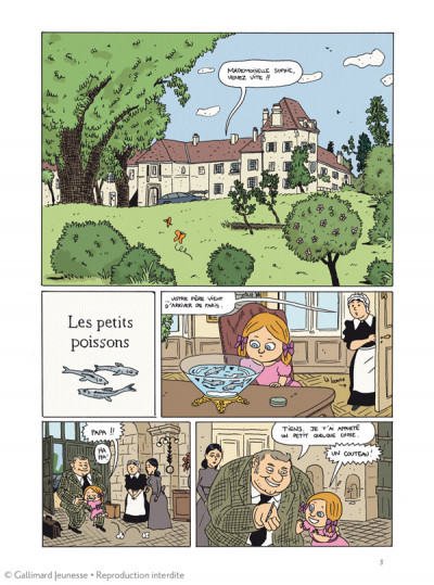 Page 1 Les malheurs de Sophie