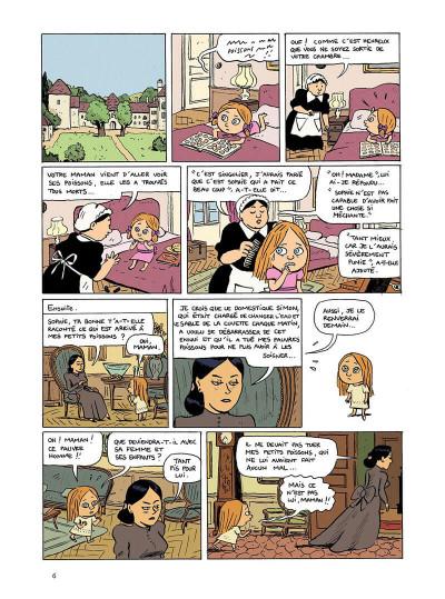 Page 6 Les malheurs de Sophie