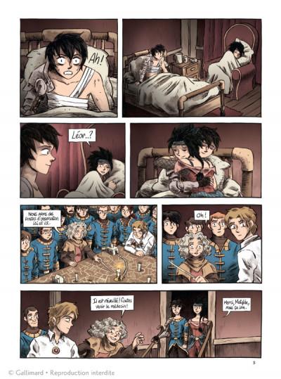 Page 3 La flamme et l'orage tome 3