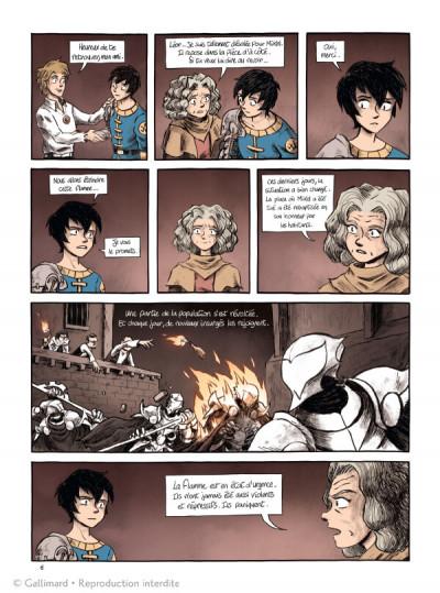 Page 4 La flamme et l'orage tome 3