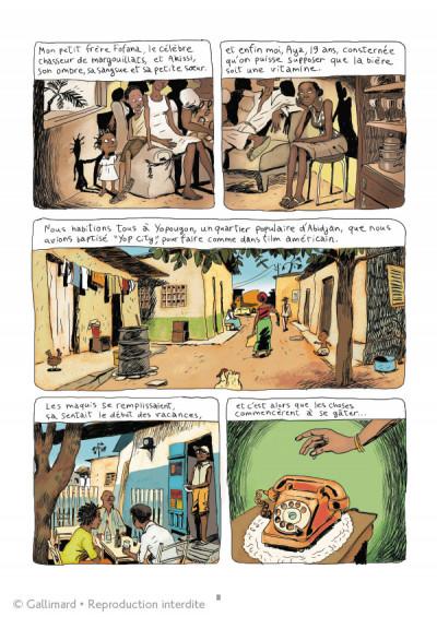 Page 3 Aya de Yopougon - intégrale tome 1