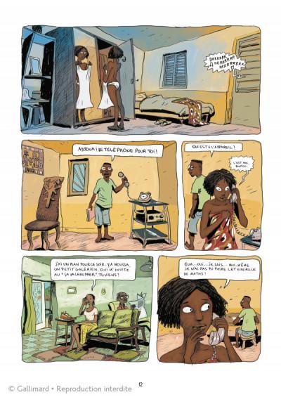Page 4 Aya de Yopougon - intégrale tome 1