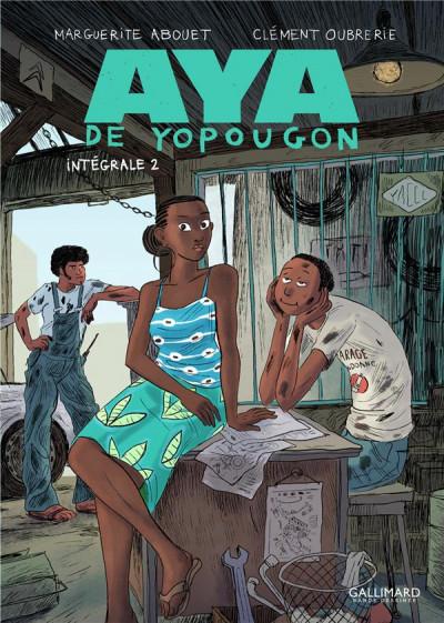 Couverture Aya de Yopougon - intégrale tome 2
