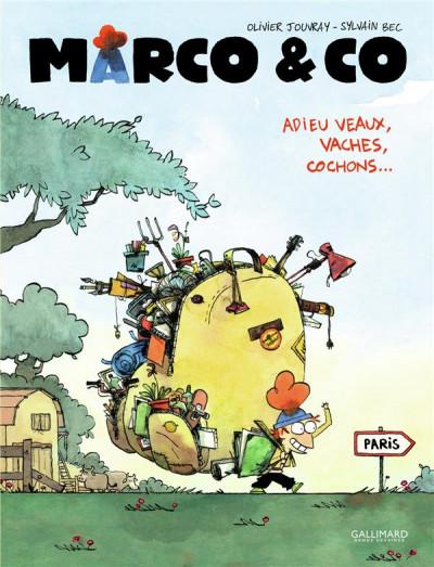 Couverture Marco et co tome 1