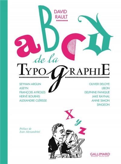 Couverture ABCD de la typographie