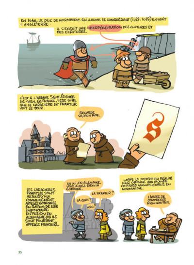 Page 2 ABCD de la typographie