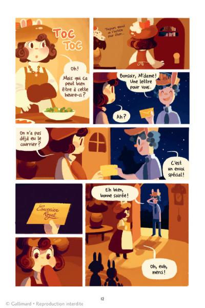 Page 1 La grande aventure de concombre tome 1