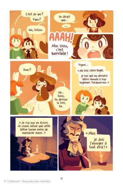 Page 2 La grande aventure de concombre tome 1