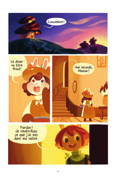 Page 8 La grande aventure de concombre tome 1