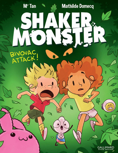 Couverture Shaker monster tome 4