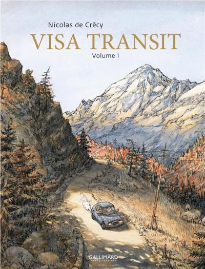 Couverture Visa transit tome 1