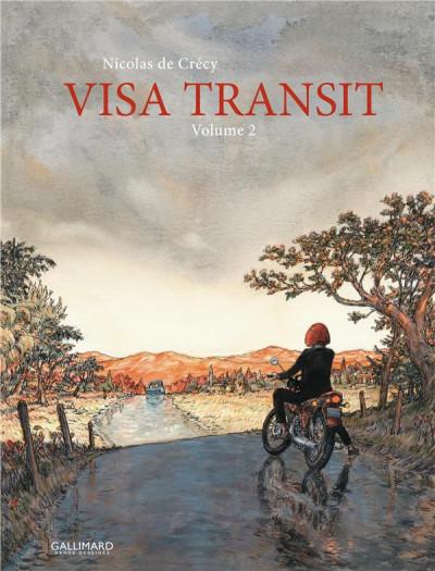 Couverture Visa transit tome 2