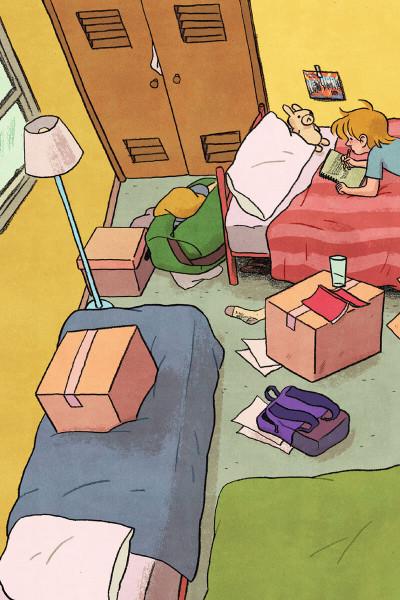 Page 4 La nouvelle vie de Jen - La ferme Petit Pois