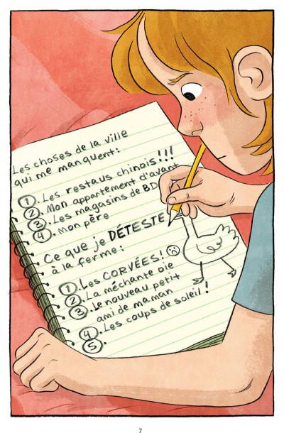 Page 7 La nouvelle vie de Jen - La ferme Petit Pois