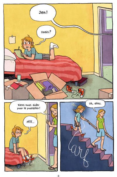 Page 8 La nouvelle vie de Jen - La ferme Petit Pois