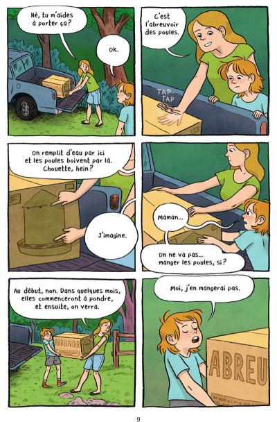 Page 9 La nouvelle vie de Jen - La ferme Petit Pois