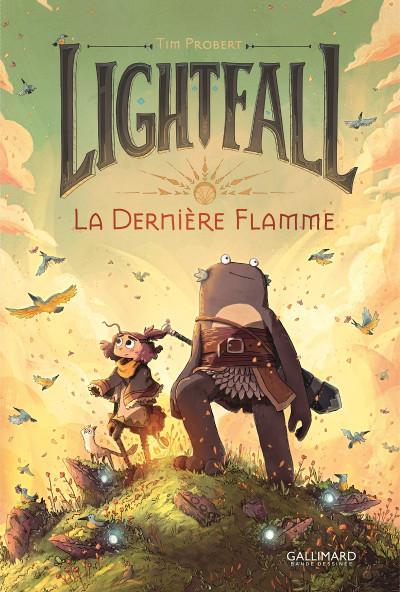 Couverture Lightfall - la dernière flamme tome 1