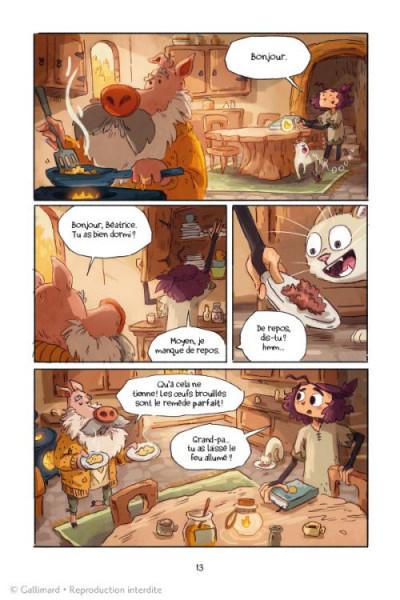 Page 1 Lightfall - la dernière flamme tome 1