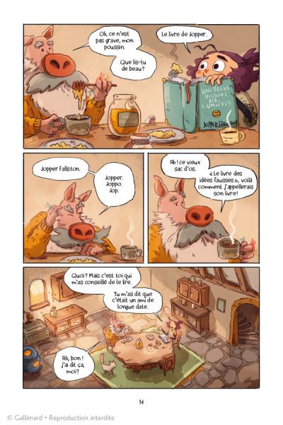 Page 2 Lightfall - la dernière flamme tome 1