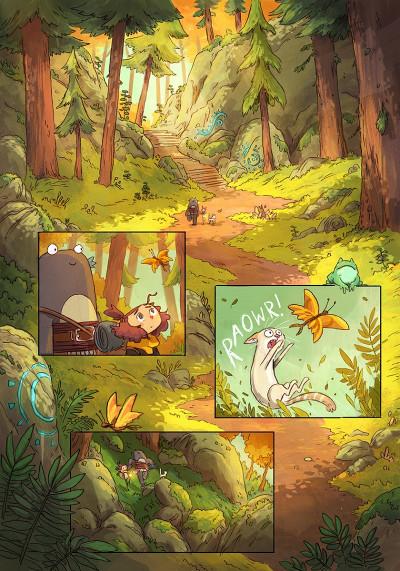 Page 3 Lightfall - la dernière flamme tome 1