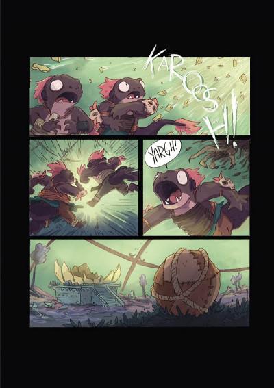 Page 4 Lightfall - la dernière flamme tome 1