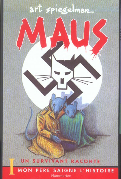 Dos coffret maus 2 volumes - un survivant raconte - mon pere saigne l histoire