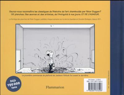 Dos (C)Artoons, une histoire insolente de l'art en BD