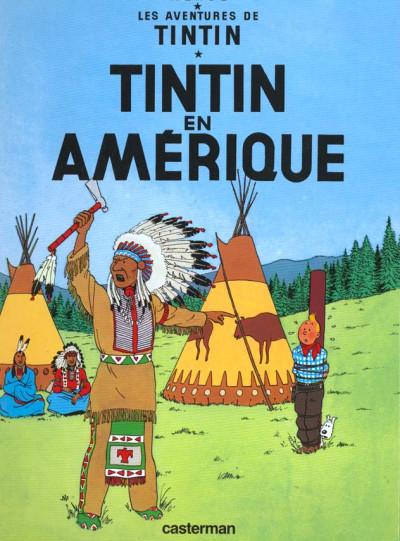 Couverture Tintin tome 3 - tintin en amérique