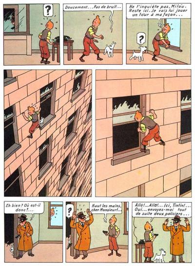 Page 1 Tintin tome 3 - tintin en amérique