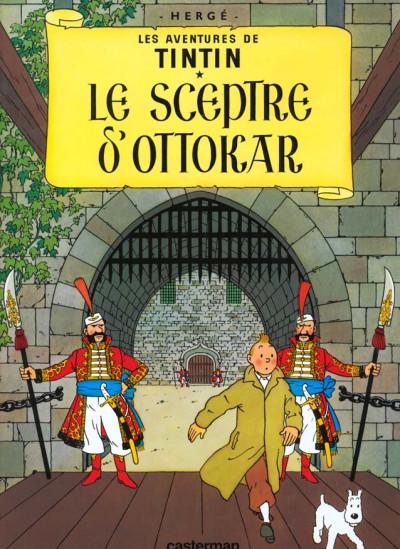 Couverture Tintin tome 8 - le sceptre d'ottokar