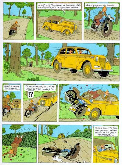 Page 1 Tintin tome 8 - le sceptre d'ottokar