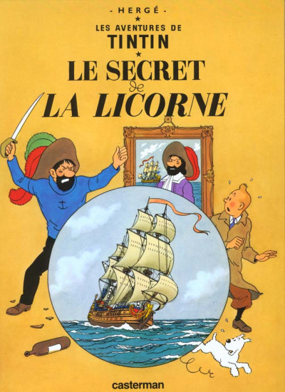 Couverture Tintin tome 11 - le secret de la licorne