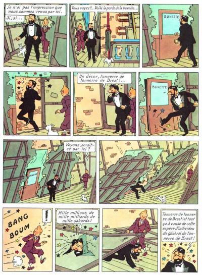 Page 1 Tintin tome 13 - les sept boules de cristal
