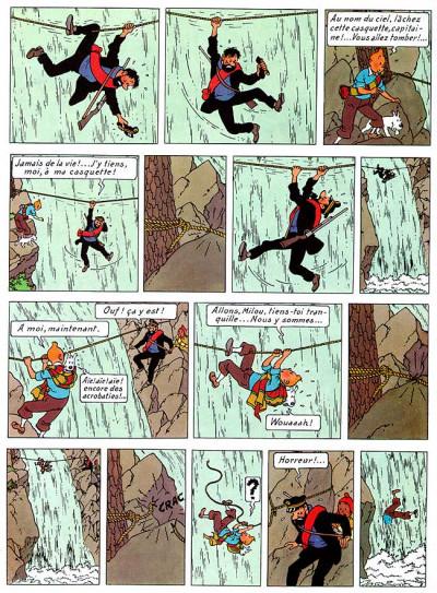 Page 1 Tintin tome 14 - le temple du soleil