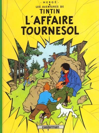 Couverture Tintin tome 18 - l'affaire tournesol