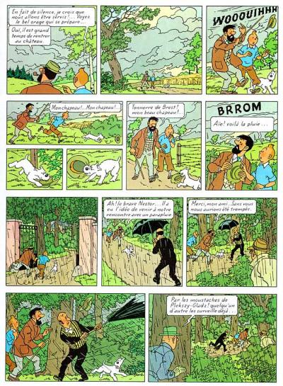 Page 1 Tintin tome 18 - l'affaire tournesol