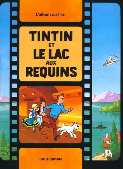 Couverture Tintin - le lac aux requins