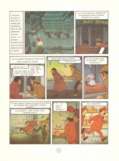 Page 6 Tintin - le lac aux requins