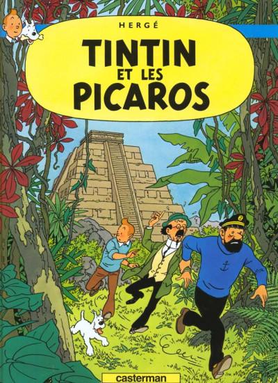 Couverture Tintin tome 23 - tintin et les picaros
