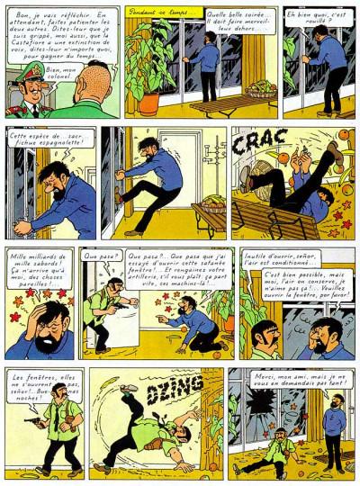 Page 1 Tintin tome 23 - tintin et les picaros