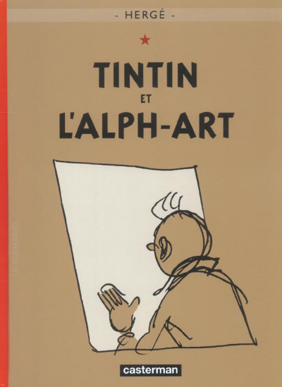 Couverture Tintin tome 24 - tintin et l'alph-art