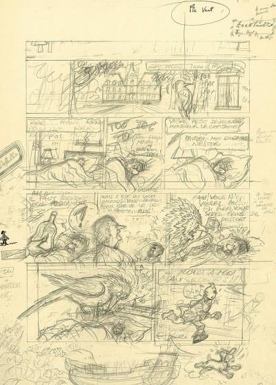 Page 1 Tintin tome 24 - tintin et l'alph-art