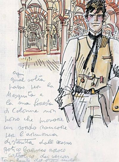 Page 1 Corto Maltese ; littérature dessinée