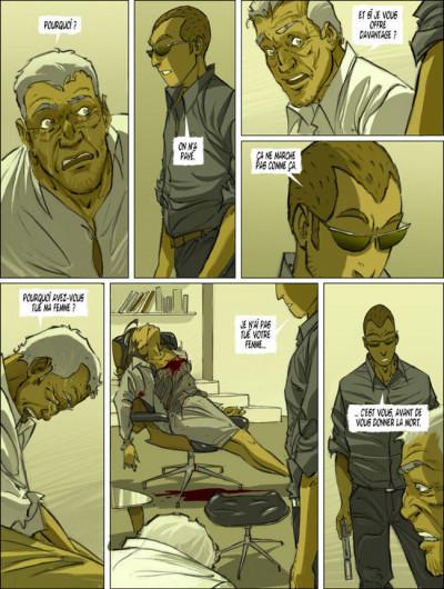 Page 1 Le tueur tome 6 - modus vivendi