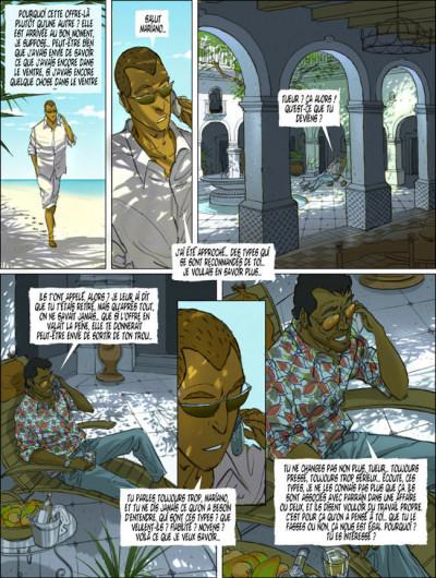 Page 9 Le tueur tome 6 - modus vivendi