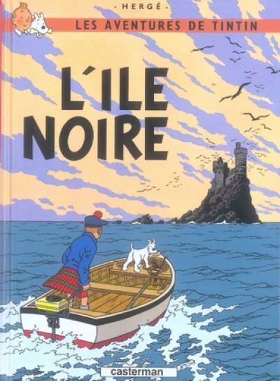 image de Tintin tome 7 - l'île noire (petit format)