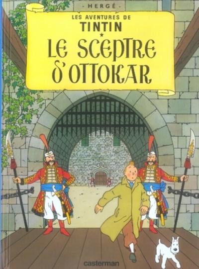 image de Tintin tome 8 - le sceptre d'ottokar (petit format)