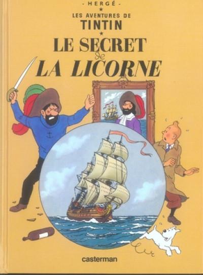 image de Tintin tome 11 - le secret de la licorne (petit format)