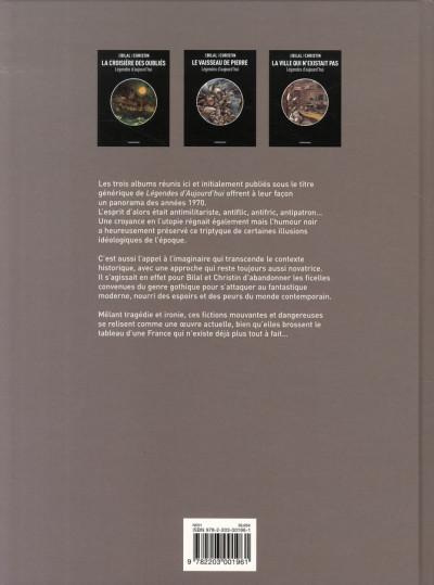 Dos légendes d'aujourd'hui, 1975-1977 ; l'intégrale